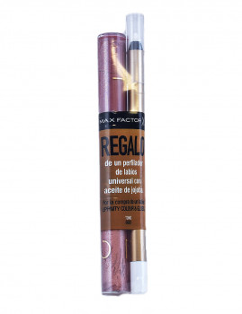 Lipfinity Colour & Gloss #600-Glowing Sepia + Lip Liner