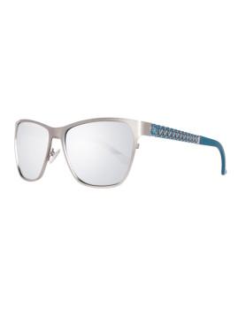 Guess Óculos De Sol Prateados E Cinzentos