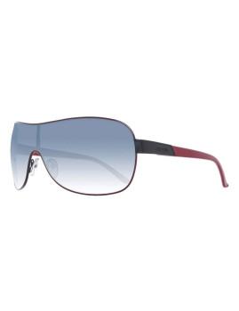 Guess Óculos De Sol Pretos E Vermelhos