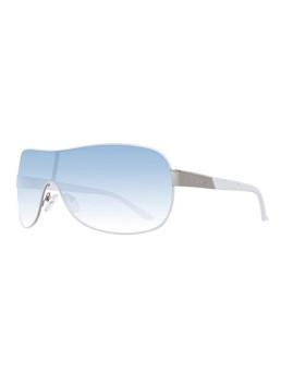 Guess Óculos De Sol Prateados E Azuis