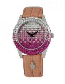 Relógio Burgmeister Rainbow Rosa