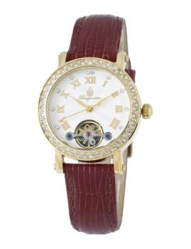 Relógio Burgmeister Monrovia Dourado, Castanho e Branco