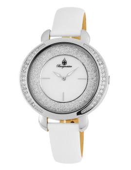 Relógio Burgmeister Nancy Branco e Madre Pérola