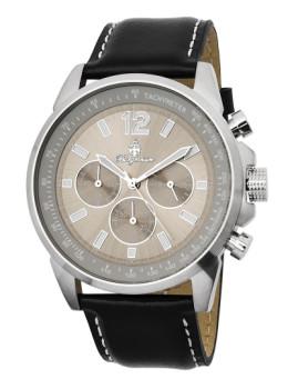 Relógio Burgmeister Washington Preto e Cinza