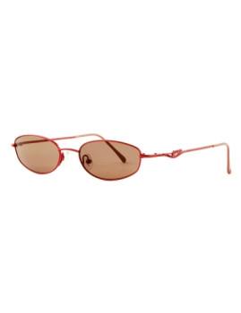 Óculos de Sol Armação fina Ovais Vermelhos Guess