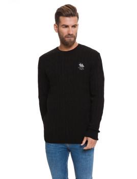 Sweatshirt De Lã Frank Ferry Preto Iii