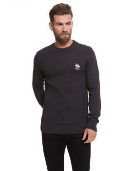 Sweatshirt De Lã Frank Ferry Antracite V