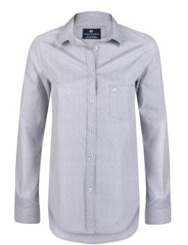 Camisa Cinzenta e Branca