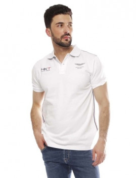 Polo Hackett Amr Tape Polo Branco