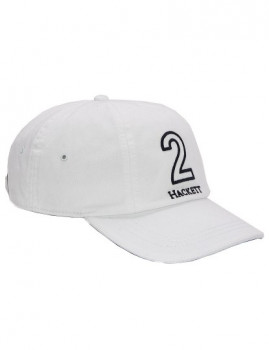 Boné Baseball Numbers Millinery Hackett Branco