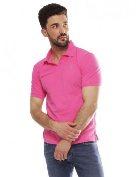 Polo Hackett Gmt Dye Stretch Rosa