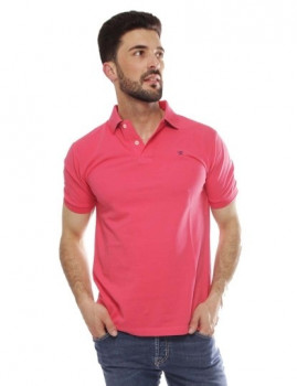 Polo Hackett Tailored Logo Coral