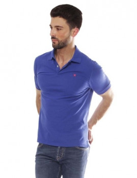 Polo Hackett Gmt Dye Stretch Azul Royal