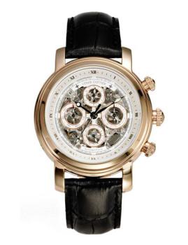 984e185fc Relógio Louis Cottier Homem Crocodilo Preto Dourado, até 2019-05-12
