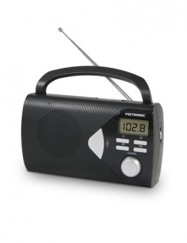 Rádio Portátil Digit Metronic Com Alarme