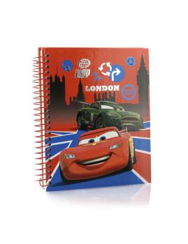 Caderno Cars Vermelho