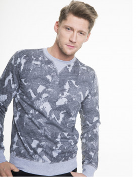 Sweatshirt  Big Star Jeans Tecido Cinza
