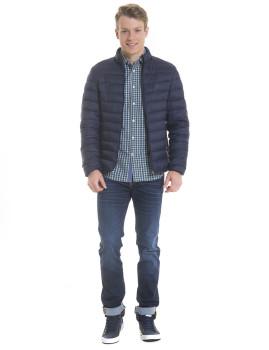 Casaco Big Star Jeans Tecido Azul Navy