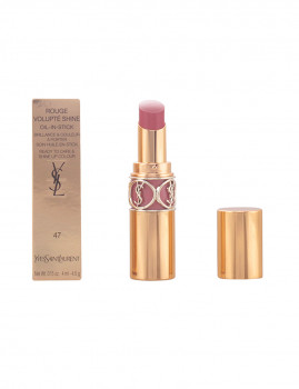 Batom YSL Rouge Volupté Shine #47-Bege Blouse 4,5 Gr