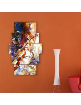 Quadro Decorativo 5 peças 119