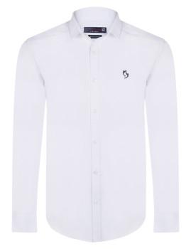 Camisa Giorgio di Mare Branca