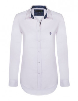 Camisa Sir Raymond Tailor Oxford Rosa Clara