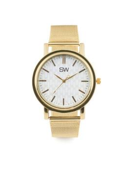 Relógio Sidartha Milan Dourado Senhora