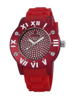 Relógio Burgmeister de Senhora Vermelho