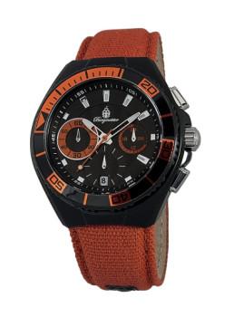 Relógio Burgmeister de Homem Laranja