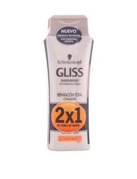 Coffret Schwarzkopf Gliss Reparador Total Shampoo Lote 2 produtos