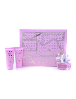 Coffret Versace Bright Crystal Lote 3 produtos