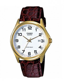 Relógio Cásio Collection Redondo Castanho