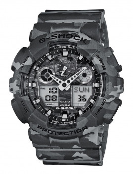 Relógio Cásio G-Shock Redondo Cinzento
