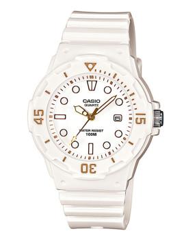 Relógio Cásio Collection Redondo Branco