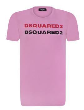 T-shirt Dsquared Rosa