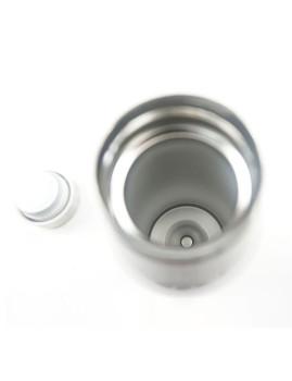 imagem de Garrafa de Aço Inoxidável Cinza  3506