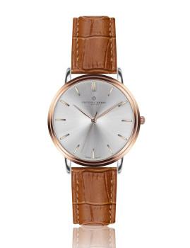 Relógio  Breithorn Homem Rosa Dourado e  Castanho