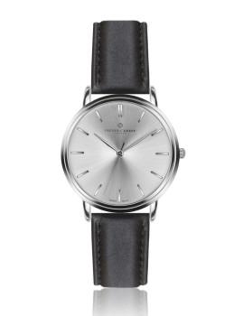 Relógio  Breithorn Homem Prateado e Preto