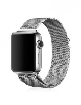 Bracelete metálica para Apple Watch 42m-24x2,2x0,16
