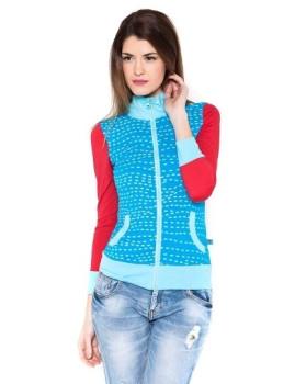Sweatshirt Senhora Oceania Azul