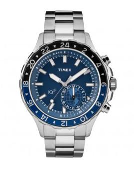 Relógio Timex Iq Timex Prateado e Azul Homem