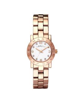 Relógio Mini Amy Marc Jacobs Dourado rosa Senhora