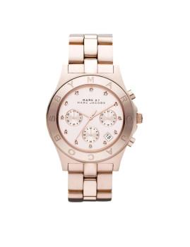 Relógio Blade Marc Jacobs Dourado rosa Senhora