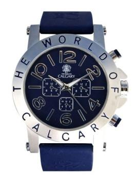 Relógio Calgary Riomagore Azul