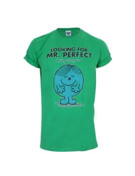 T-shirt Mr Perfect Senhora Verde