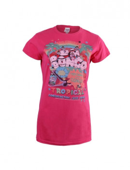 T-shirt Um Bongo Ad Senhora Rosa