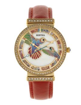 Relógio Bertha Emily Senhora Laranja