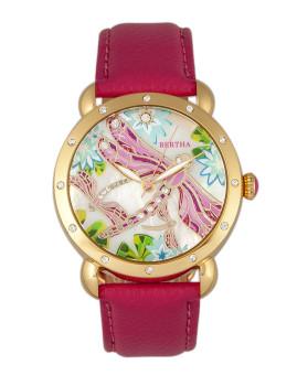 Relógio Bertha Jennifer Senhora Rosa Quente