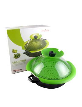 A maior inovação na Cozinha a Vapor. Multisteamer é um utensílio multi-usos.