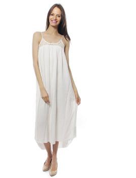 Vestido Le Temps de Cerises Branco